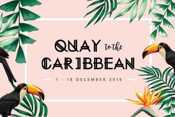 Christmas Packages Quay to the Caribbean - Ultimo Catering & Events